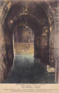Interior- Pool Of Bethesda, Jerusalem, Israel, Asia, 1910-1920s