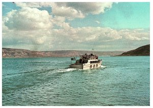 A boat on the Lake of Galilee Israel Postcard 4 x 6