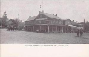 Pennsylvania Souderton Corner Main &  Front Streets Berkemeyer