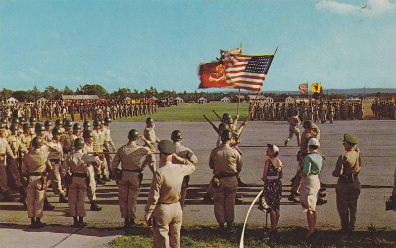 Passing-in-Review Major Division, Camp Drum, New York, 40-60´s