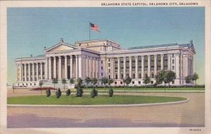 Oklahoma City Oklahoma State Capitol 1957