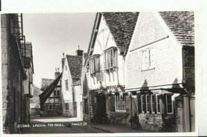 Wiltshire Postcard - Lacock - The Angel - Ref 18197A