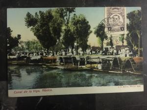 1921 Veracruz Mexico Real Picture RPPC The Viga Channel