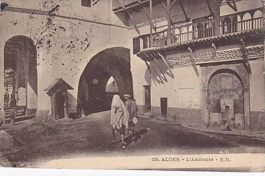 L'Amiraute, Alger, Algeria, Africa, PU-1914