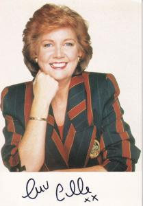 Cilla Black Blind Date Hand Signed Photo