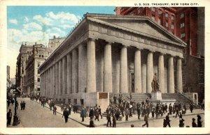 New York City United States Sub Treasury 1916