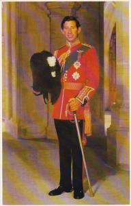 Prince Charles Colonel Of The Welsh Guards