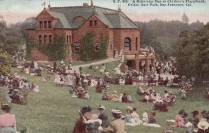 SAN FRANCISCO, California , 1900-10s ; Children's Playground, Golden Gate Park