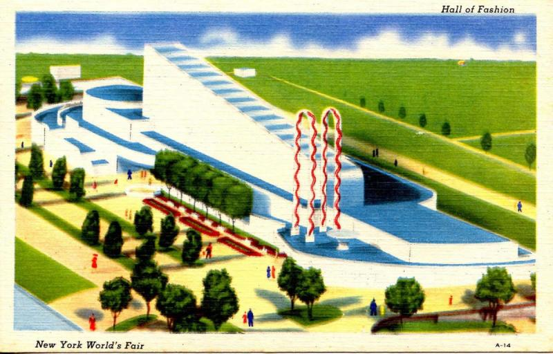 NY - New York City. World's Fair, 1939. Hall of Fashion
