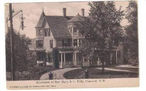 Residence of Rev. Mary B.G. Eddy,Concord,New Hampshire, 00-10s