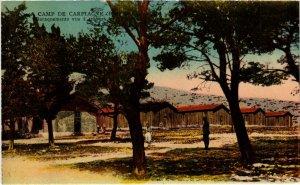 CPA MARSEILLE - Camp de Carpiagne Baraquements vus a travers les (986706)