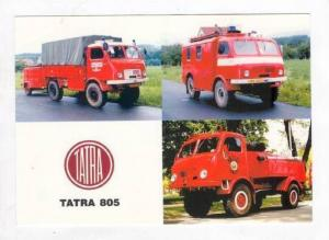 TATRA 805 Firetrucks , Czech Republic, 60-70s