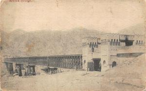 Pakistan Attock Bridge Bridge Pont Postcard
