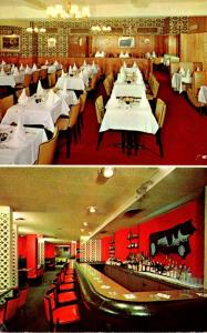 New York City Black Angus Restaurant 1957