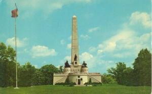Abraham Lincoln Tomb, Springfield Illinois unused Postcard