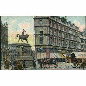 Emerald Series Postcard 'Holborn Circus, London'