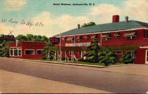 North Carolina Jacksonville Hotel Walmor