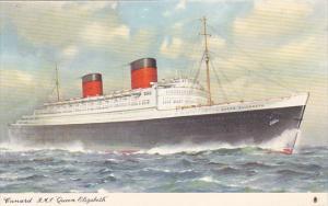 Cunard R M S Queen Elizabeth 1953