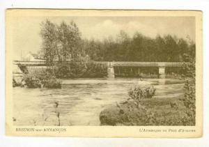 Bridge, L'Armancon Au Pont D'Auxerre, Brienon-sur-Armancon (Yonne), France, 1...