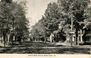 VT - Hyde Park. Lower Main Street