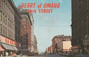 OMAHA , Nebraska , 50-60s ; 16th Street