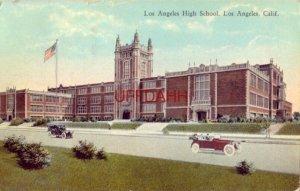 LOS ANGELES HIGH SCHOOL, LOS ANGELES, CA 1923