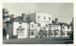 UK The Cloud Hotel Brockenhurst New Forest postcard 01.85