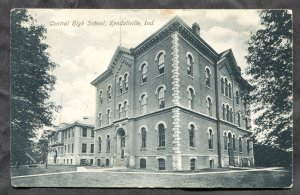 436 - KENDALLVILLE Indiana 1908 Central High School