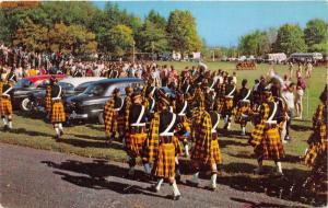 Wooster Ohio~Wooster College Marching Band~Fighting Scots Football Game~50s Cars