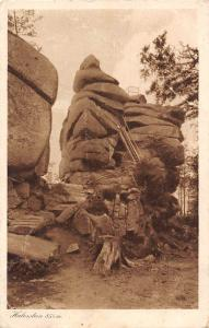 Haberstein Blockfield of Granite Rocks Rock Tower