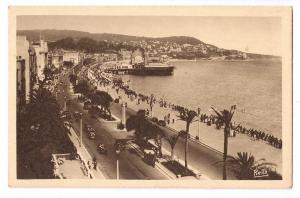 Nice Cote d'Azur France English Promenade Casino 1938 Rella