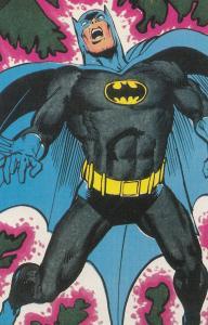 Batman Norway Postcard