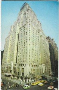 VTG postcard, Hotel New Yorker, New York city, N.Y.