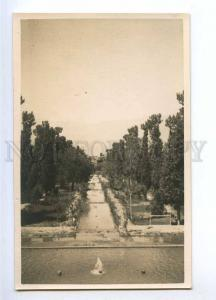 193063 IRAN Persia MAHUN Mosque garden Vintage photo postcard