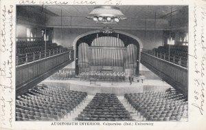 VALPARAISO, Indiana, PU-1908; Auditorium Interior, Valparaiso University