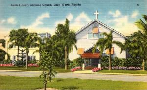 Florida Lake Worth Sacred Heart Catholic Church 1948
