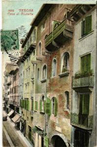 CPA VERONA Casa di Giulietta. . ITALY (448784)