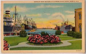 Alabama State Docks, Mobile Ala