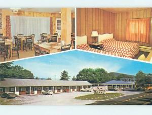 Unused Pre-1980 MOTEL SCENE Woodsville New Hampshire NH HJ9927@