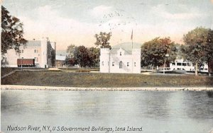 US Government Buildings in Iona Island, New York
