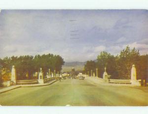 Pre-1980 BRIDGE SCENE Boise Idaho ID HJ0887