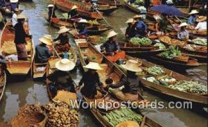 Rajburi Province Thailand Floating Markets Rajburi Province Floating Markets