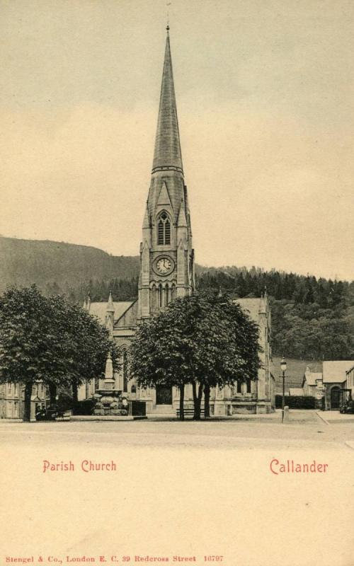 UK - Scotland, Callander. Parish Church (St Kessog's)