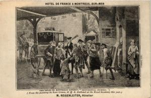 CPA MONTREUIL-sur-MER Hotel de France (405727)
