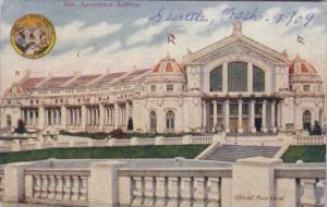 Agricultural Building World's Fair Seattle Washington 1909