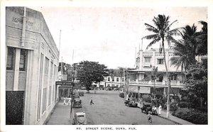 Street Scene Suva Fiji Unused