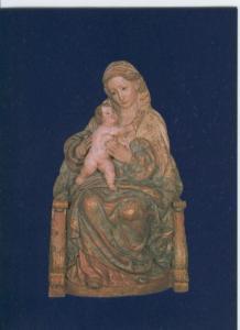 Postal 012811: Virgen madre de la parroquia de Pedrosa del Paramo