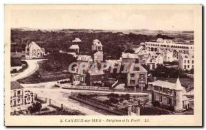 Old Postcard Cayeux sur Mer Brighton and Foret