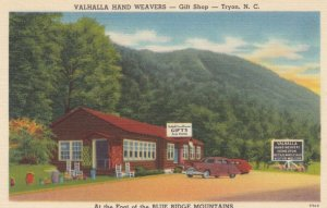 TRYON, NC, 30-40s; Valhalla Hand Weavers - Gift Shop, Foot of Blue Ridge Mtns.