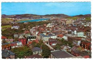 View taken from Basilica Towers looking toward Quidi Vidi Lake showing Milita...